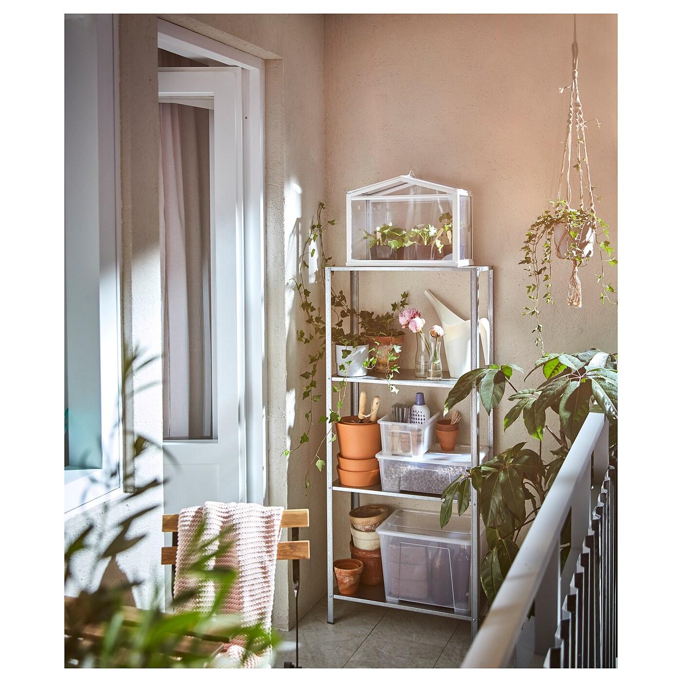 Hyllis Etagere Interieur Exterieur Acier Zingue Ikea