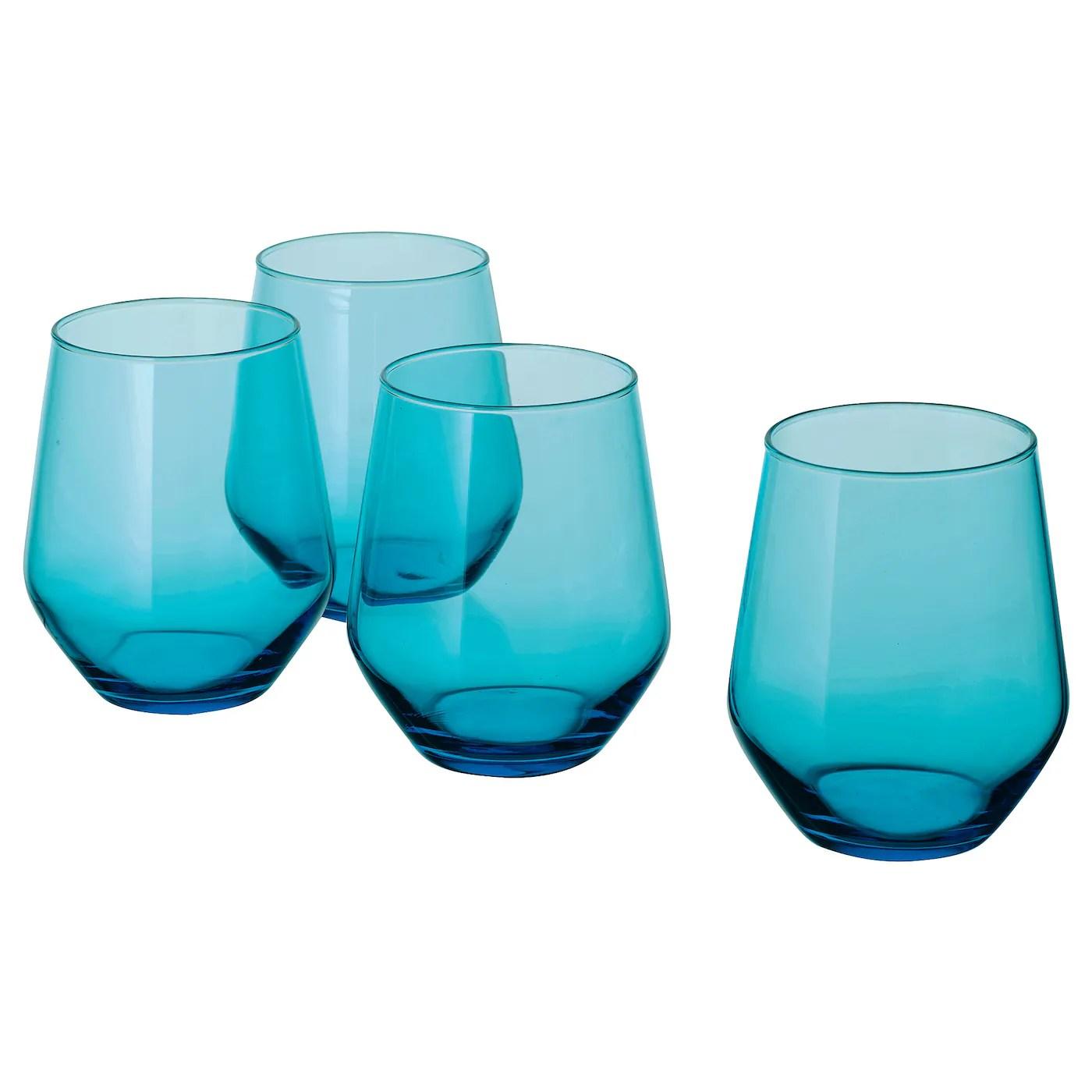 ivrig verre turquoise 45 cl
