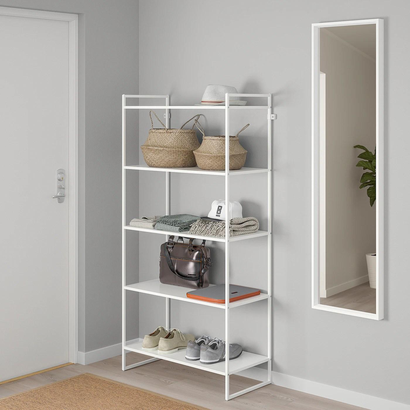 Jonaxel Etagere Blanc 80x38x160 Cm Ikea