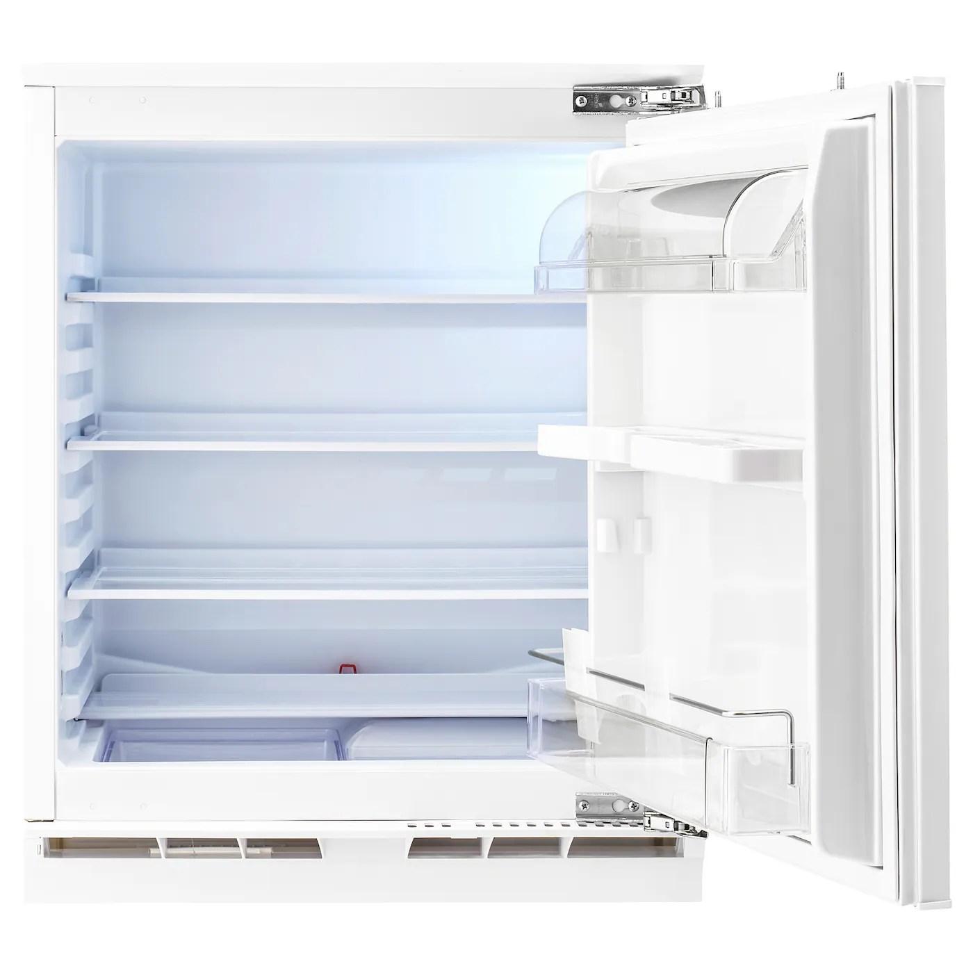 kallnat refrigerateur encastrable a blanc 144 l