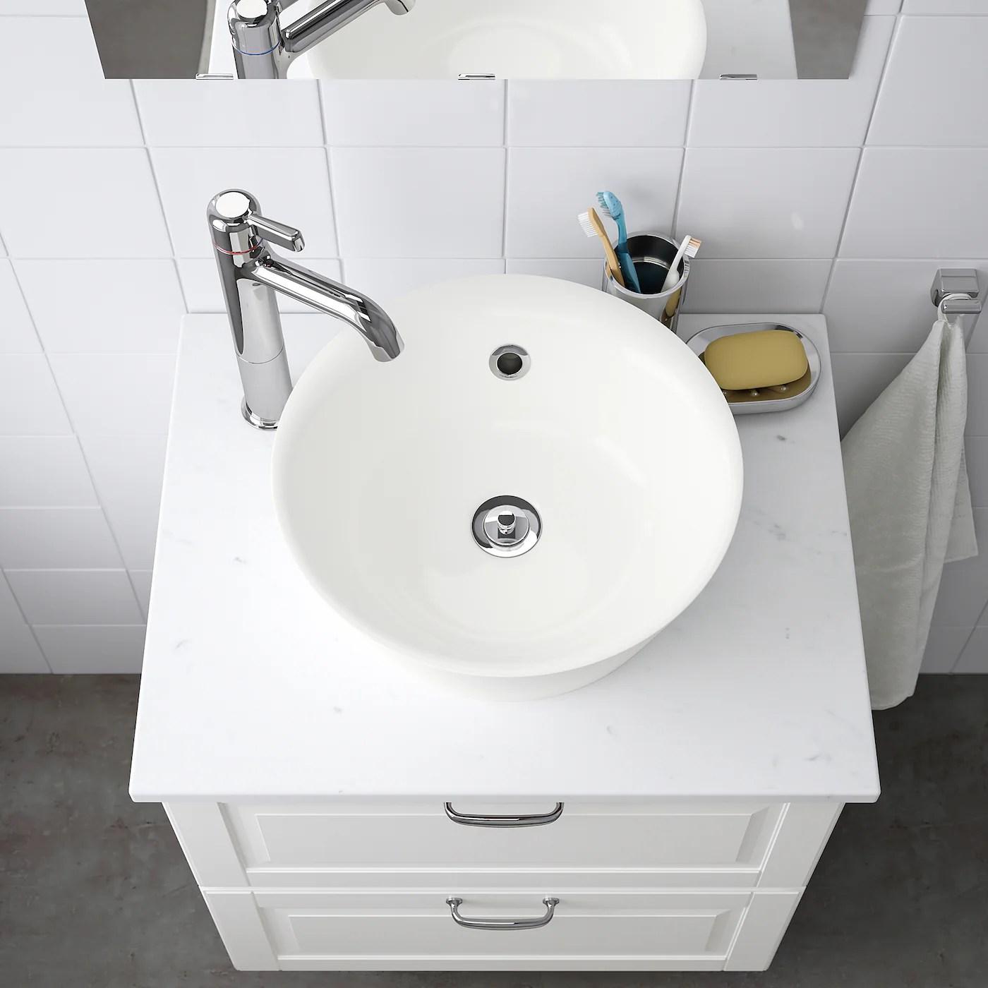 kattevik vasque blanc 40 cm