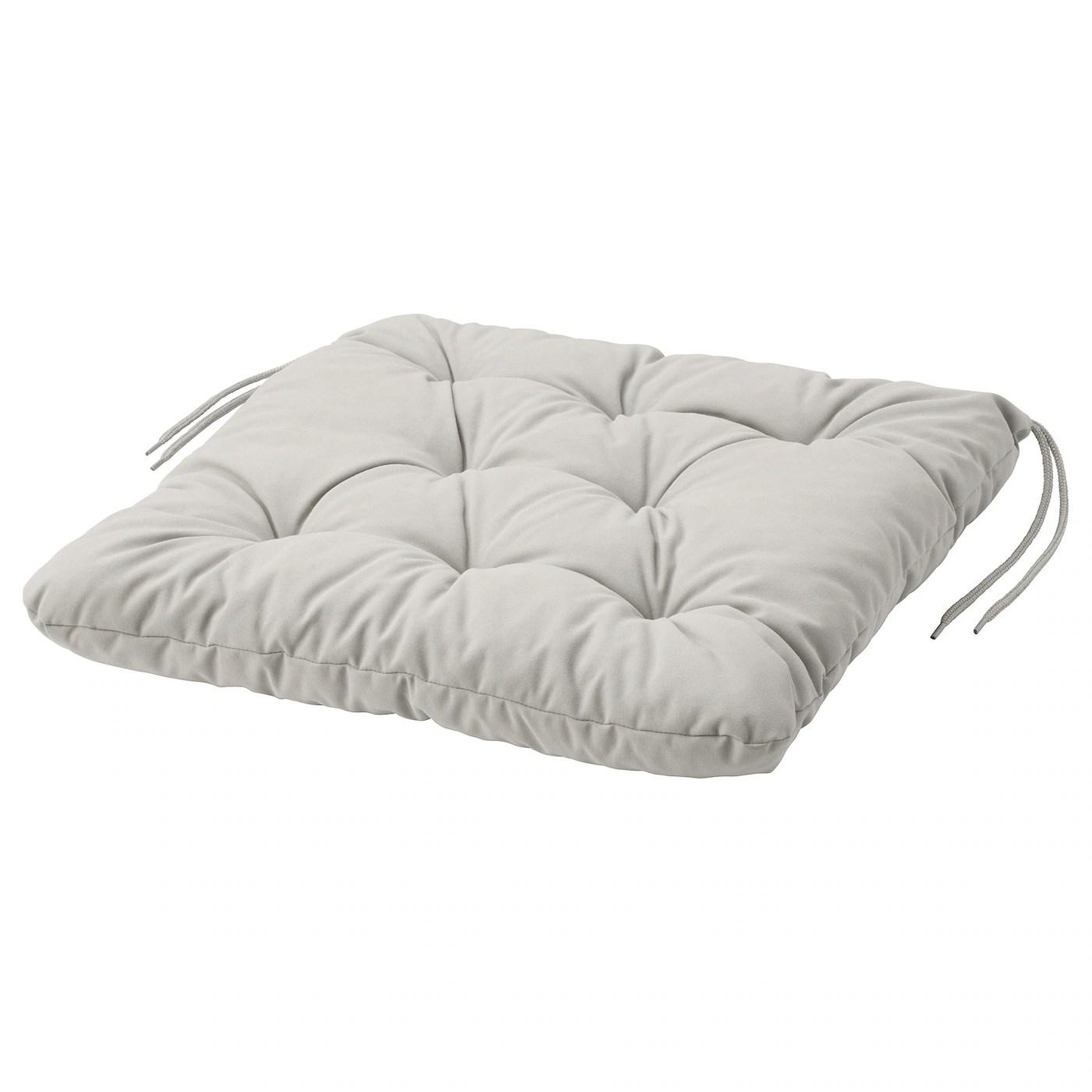 kuddarna coussin de chaise exterieur gris 44x44 cm