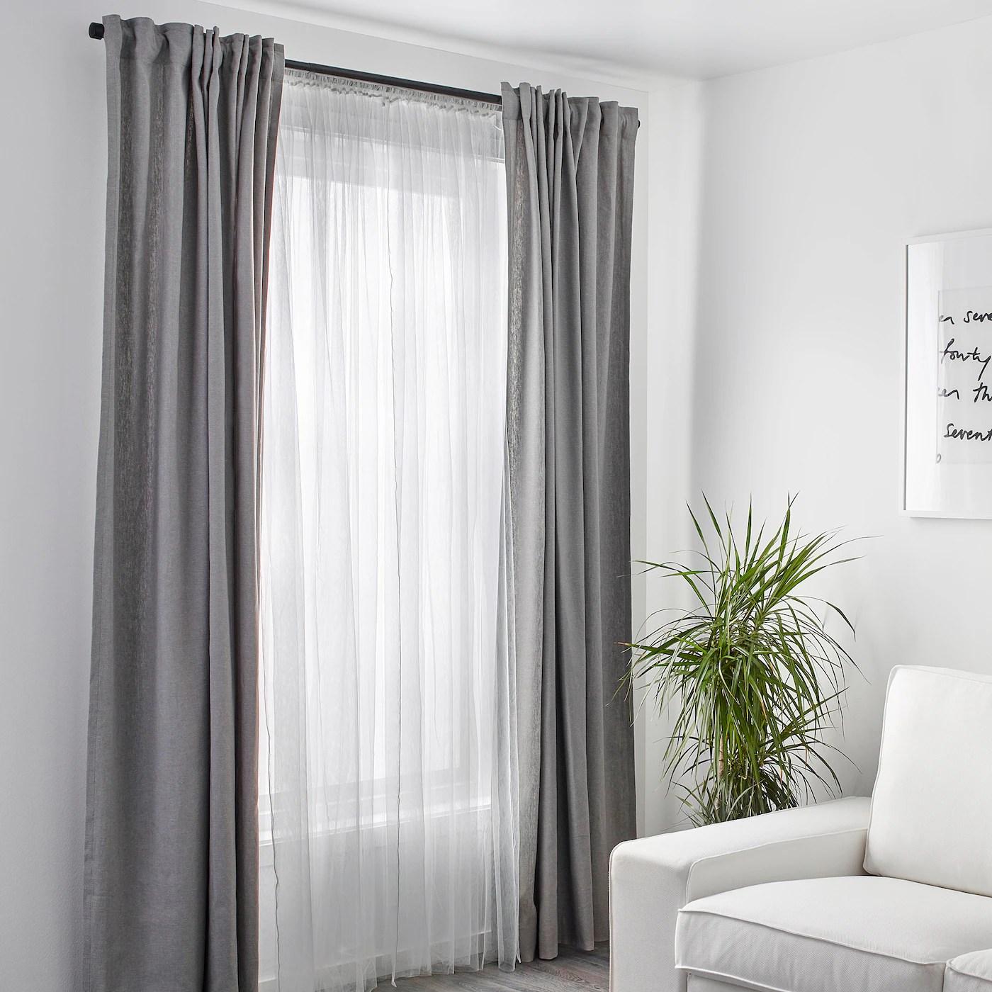 lill rideaux filet 2 pieces blanc 280x300 cm