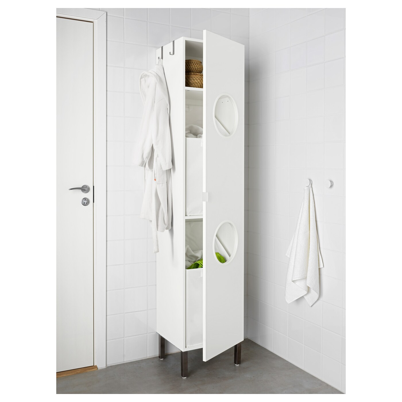 Lillangen Colonne Blanc 40x38x194 Cm Ikea