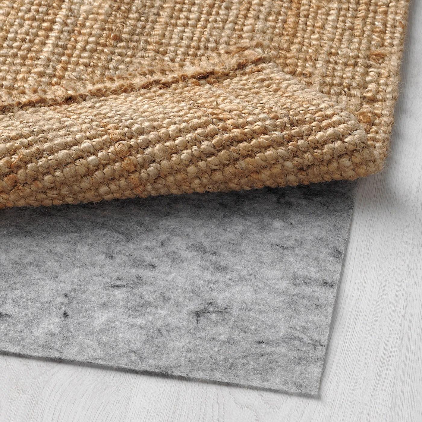 lohals tapis tisse a plat naturel 80x150 cm