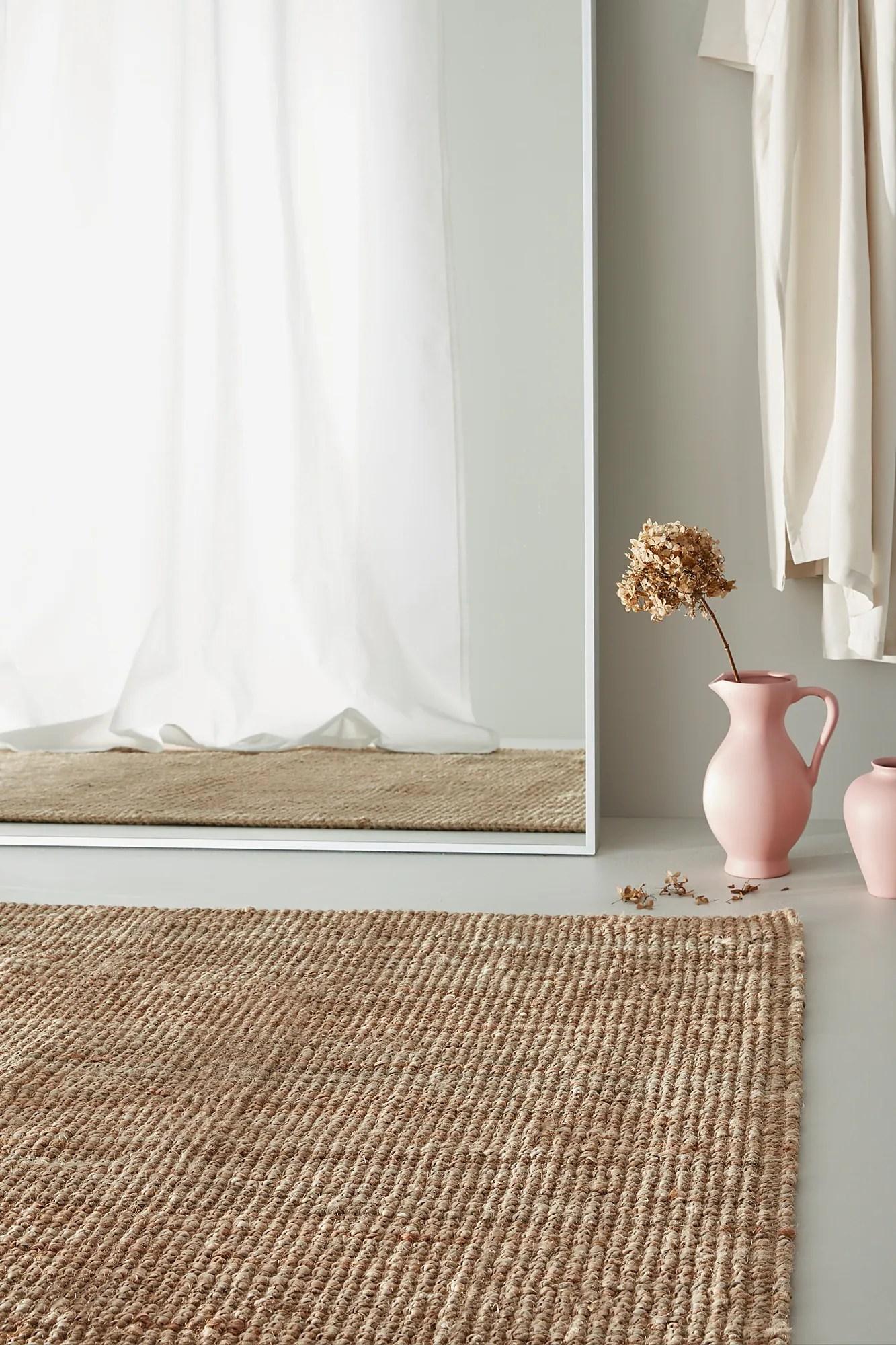 lohals tapis tisse a plat naturel 160x230 cm