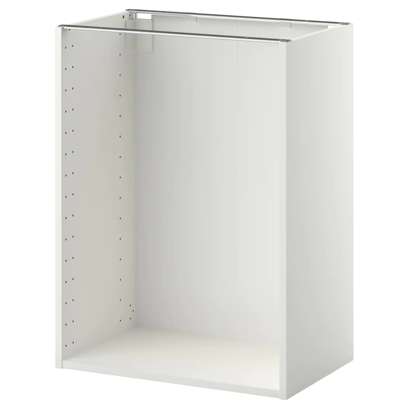 Metod Structure Element Bas Blanc 60x37x80 Cm Ikea