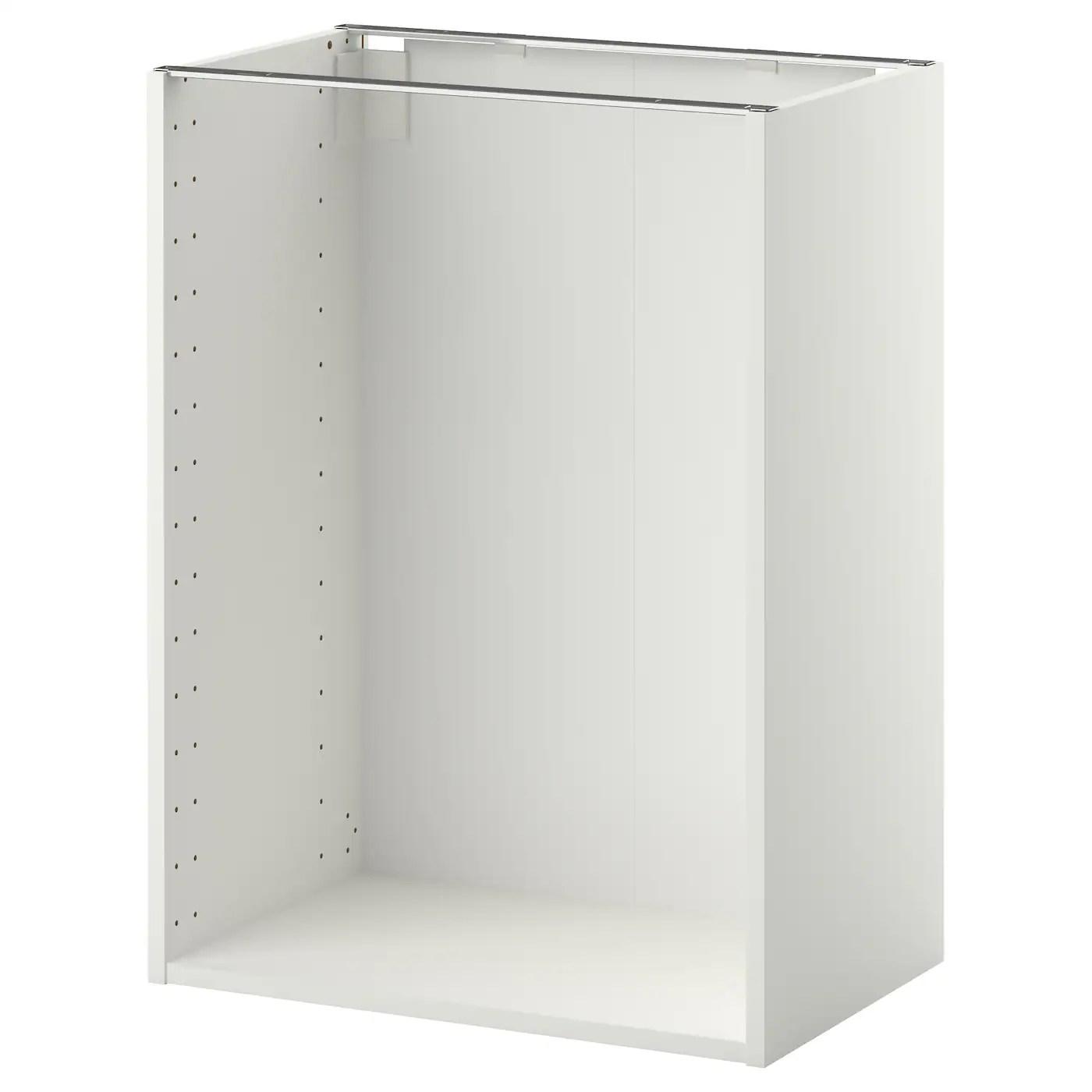 metod structure element bas blanc 60x37x80 cm