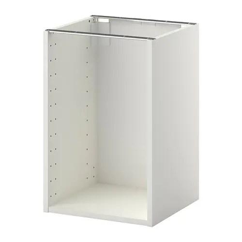 METOD Structure Lment Bas Blanc 40x37x60 Cm IKEA