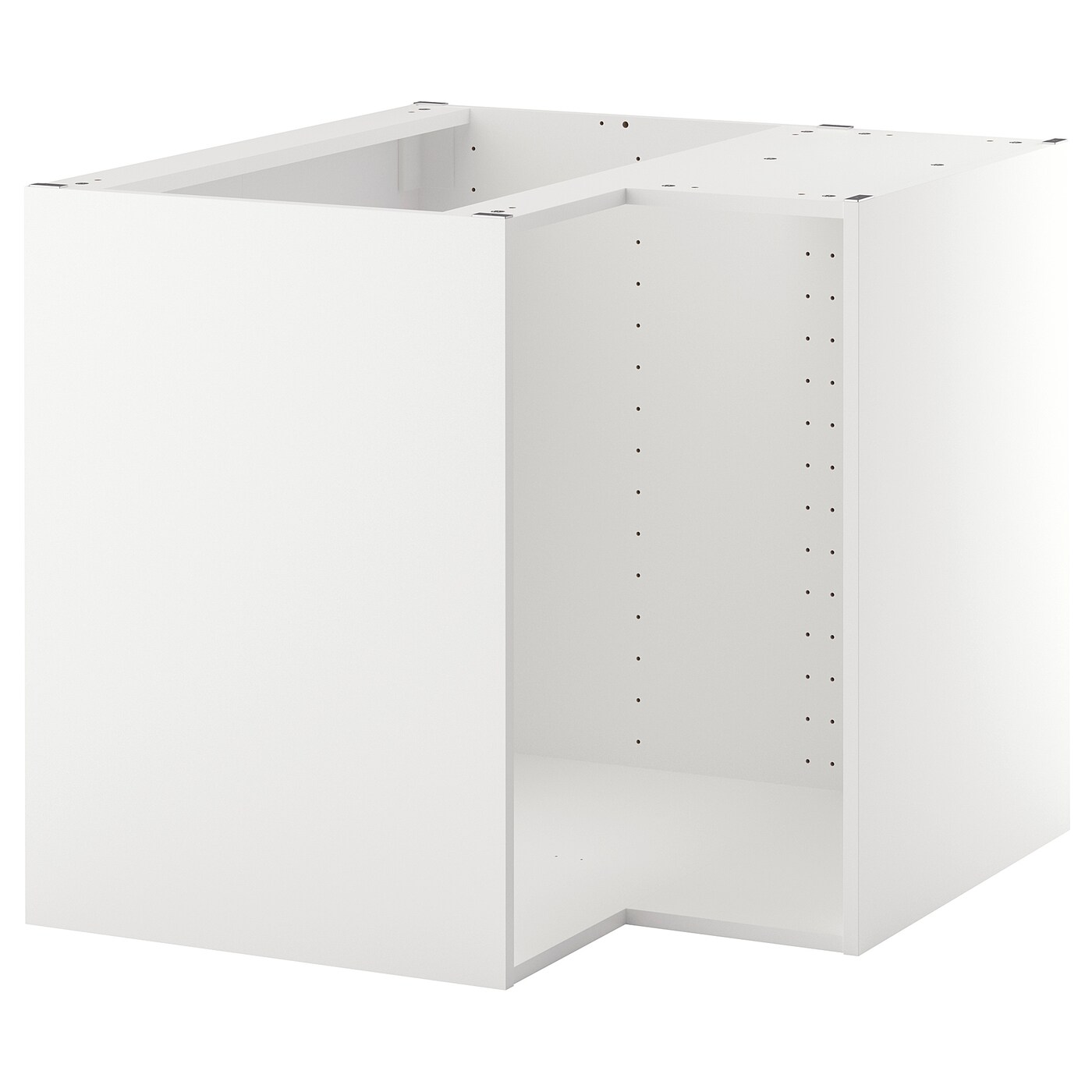 metod structure element bas d angle blanc 88x88x80 cm