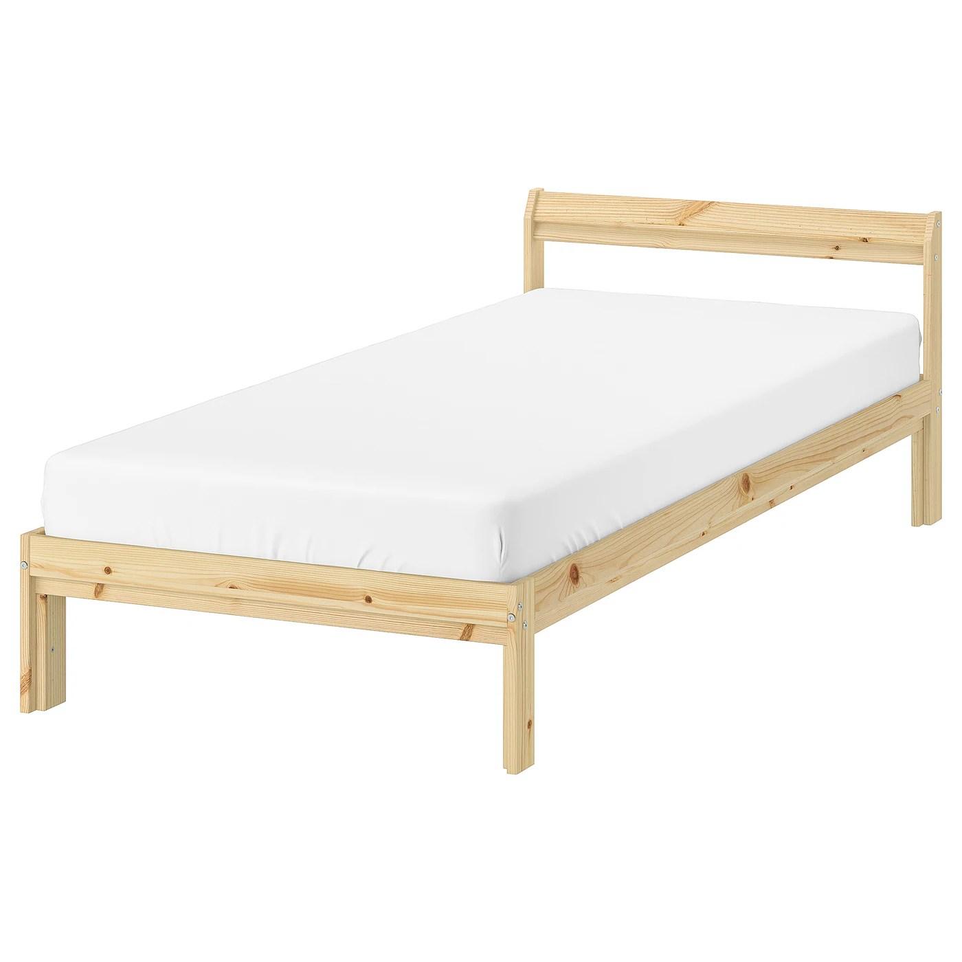 neiden cadre de lit pin luroy 90x200 cm
