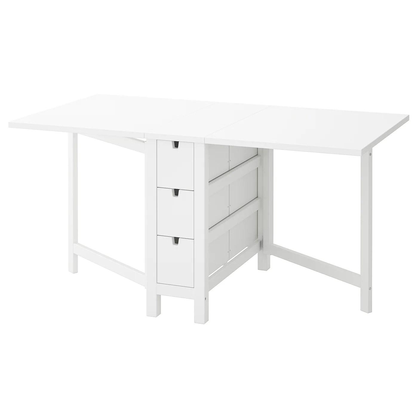 norden table a rabat blanc 26 89 152x80 cm