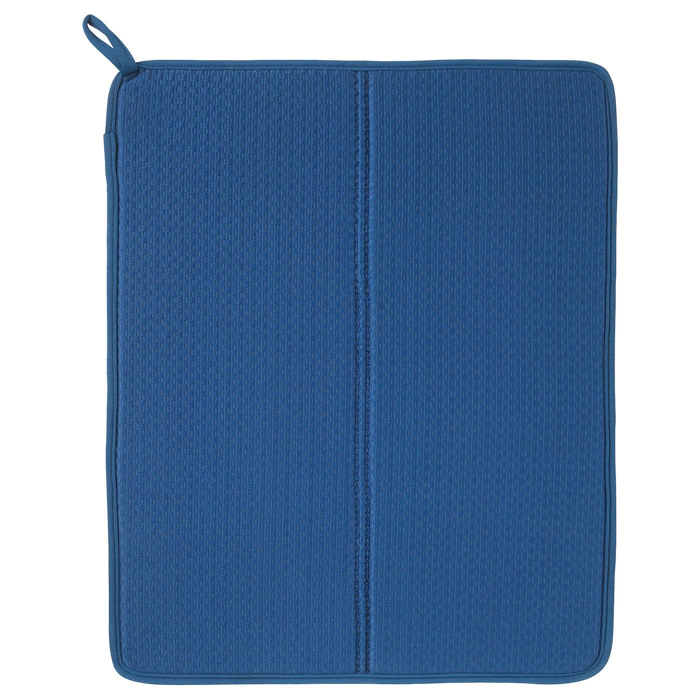 nyskoljd tapis sechage vaisselle bleu 44x36 cm