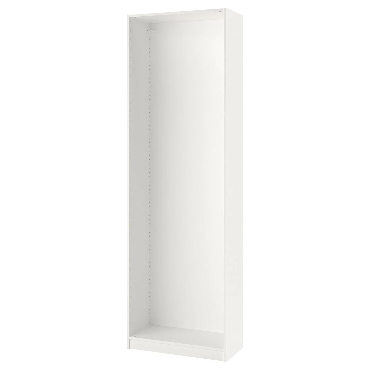 pax caisson d armoire blanc 75x35x236 cm