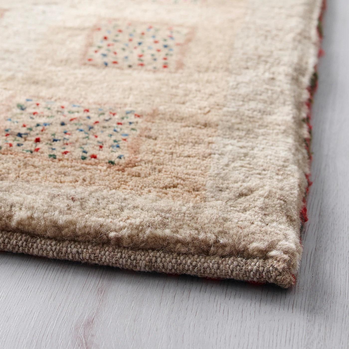 persisk gabbeh l tapis poils hauts fait main coloris assortis 110x175 cm