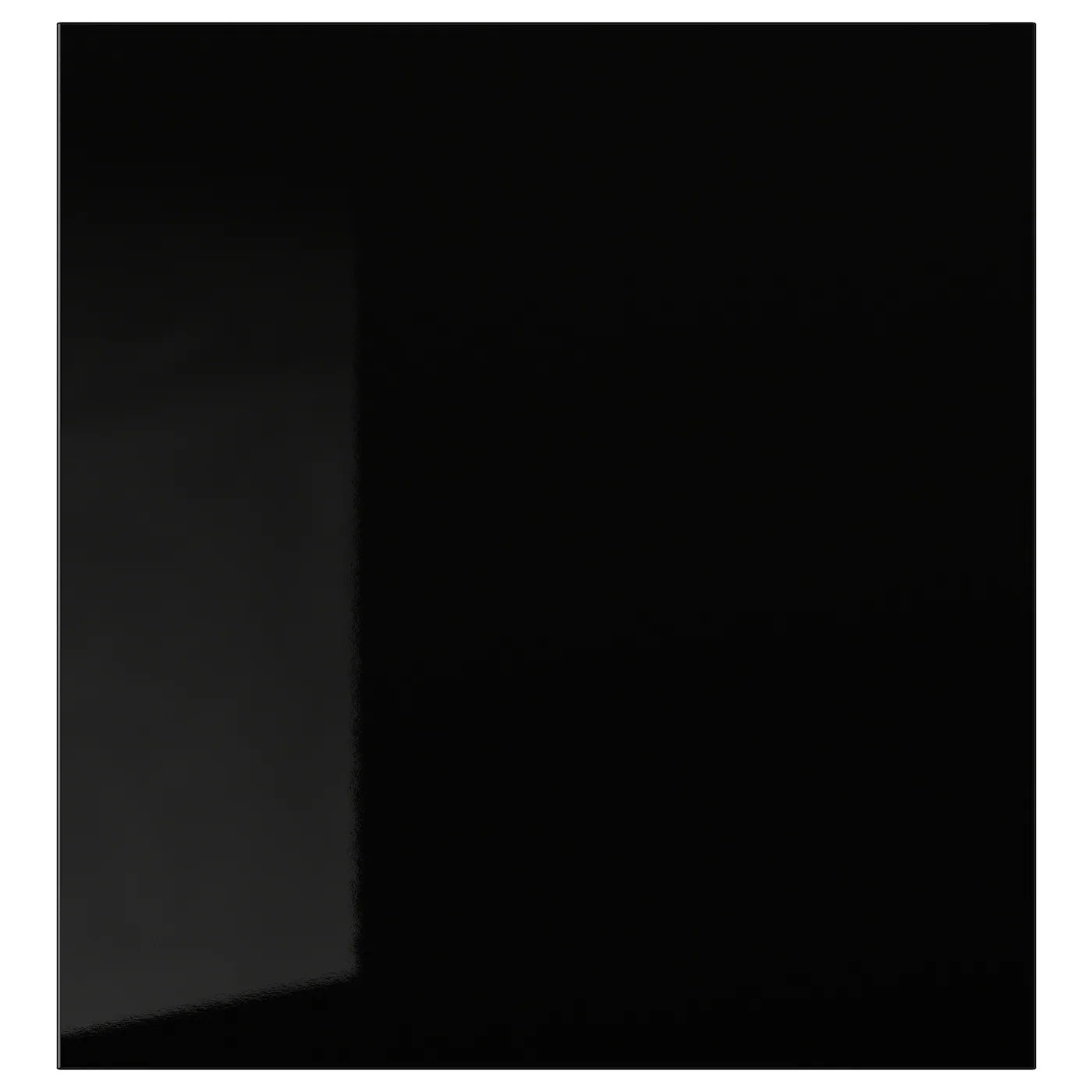 selsviken porte brillant noir 60x64 cm