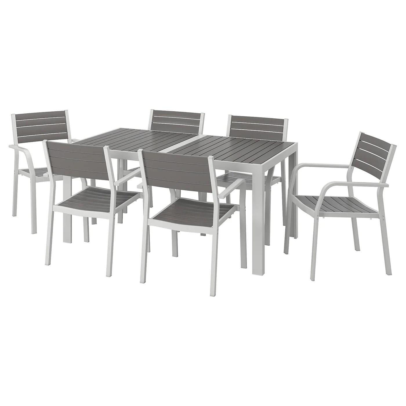 ensemble table et chaises de jardin pas