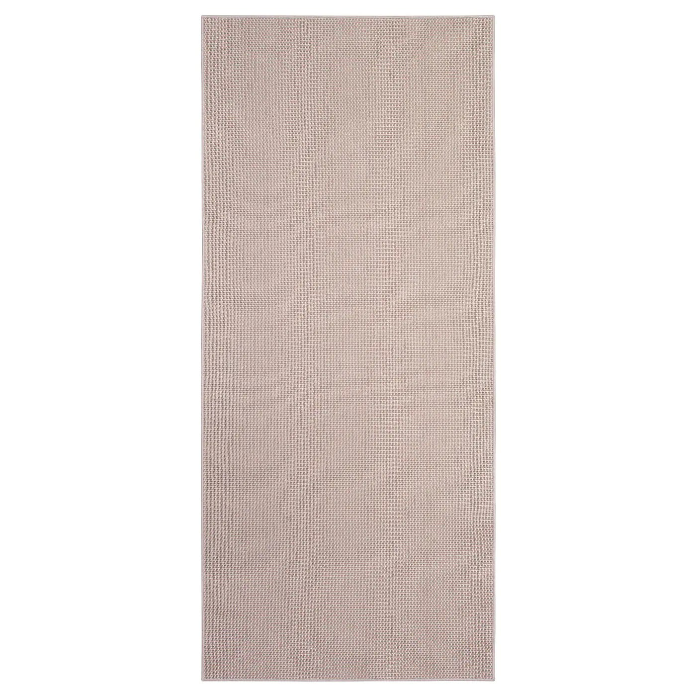 sollinge tapis tisse a plat beige 65x150 cm