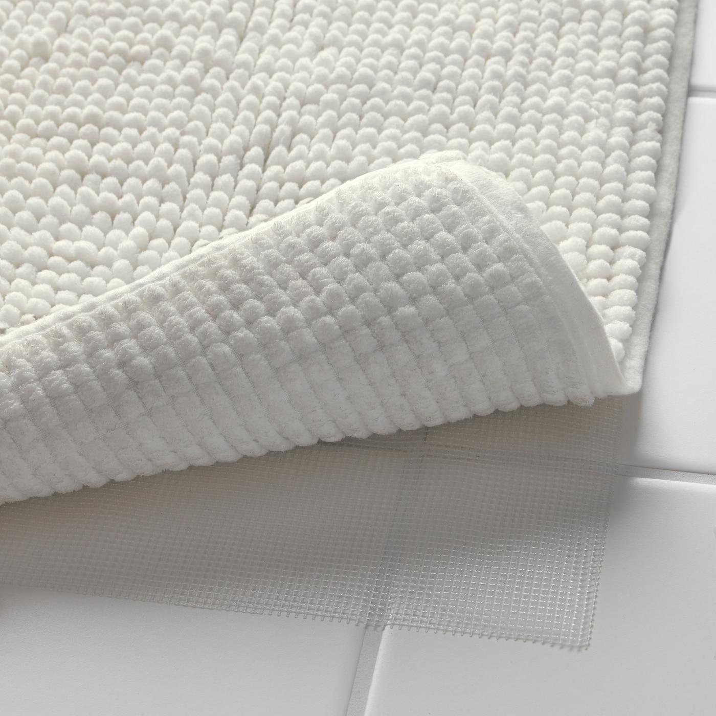toftbo tapis de bain blanc 50x80 cm