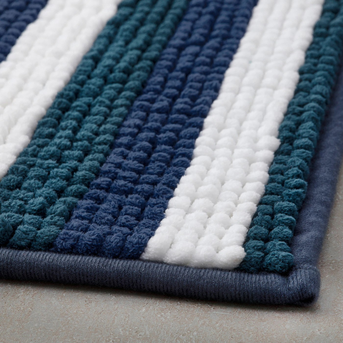 toftbo tapis de bain multicolore 50x80 cm