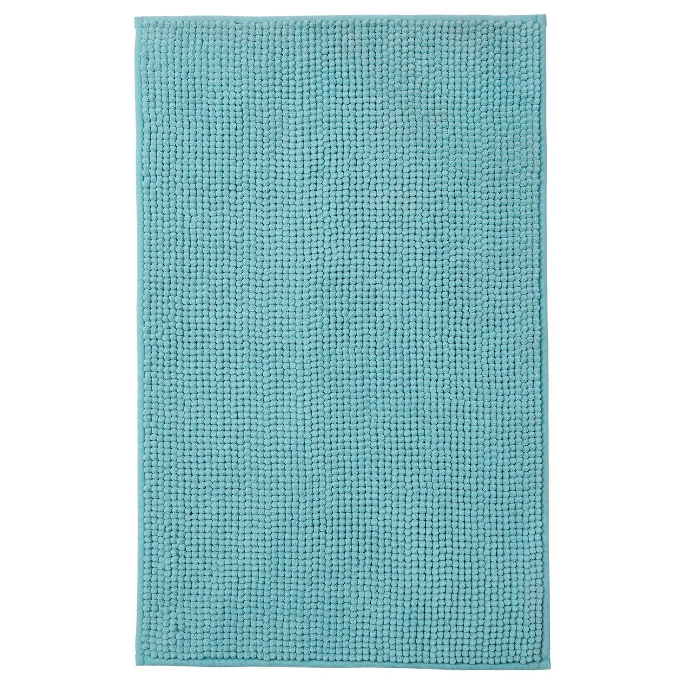 toftbo tapis de bain turquoise 50x80 cm