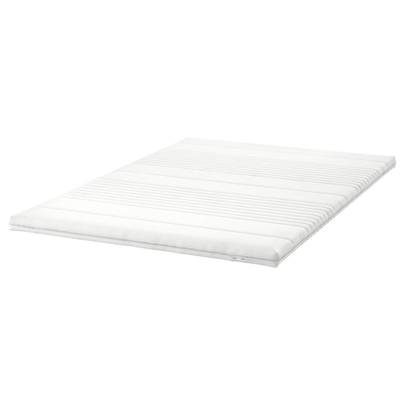 tussoy surmatelas blanc 140x200 cm