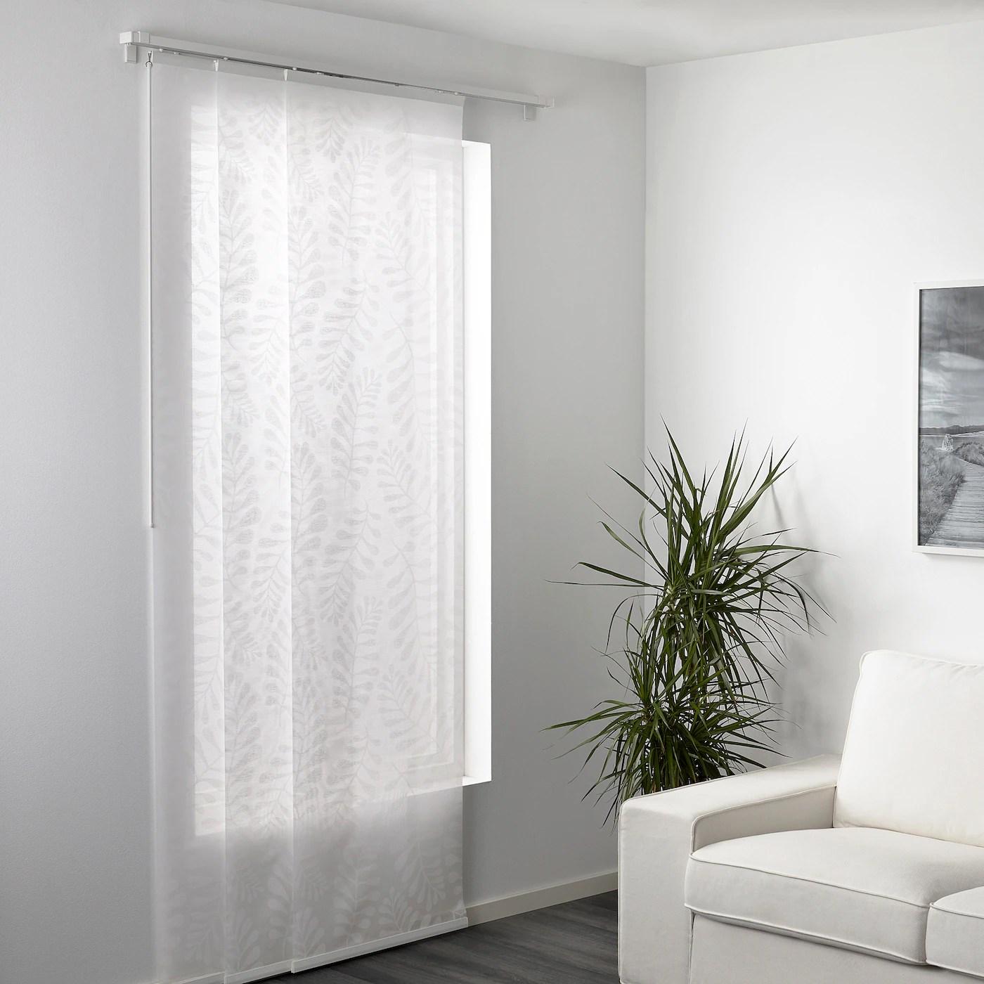 yrla panneau blanc blanc 60x300 cm