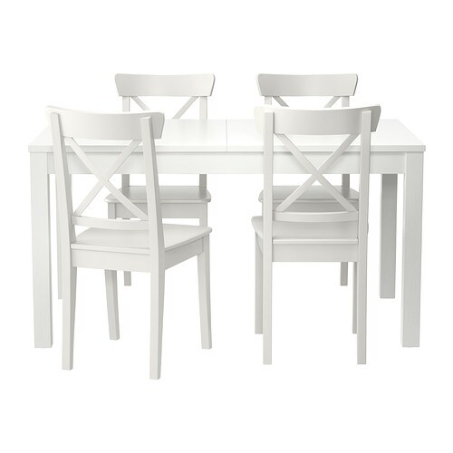 Bjursta Ingolf Table And 4 Chairs Ikea