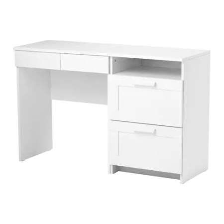IKEA BRIMNES dressing table + chest of 2 drawers Smooth running drawers with pull-out stop.