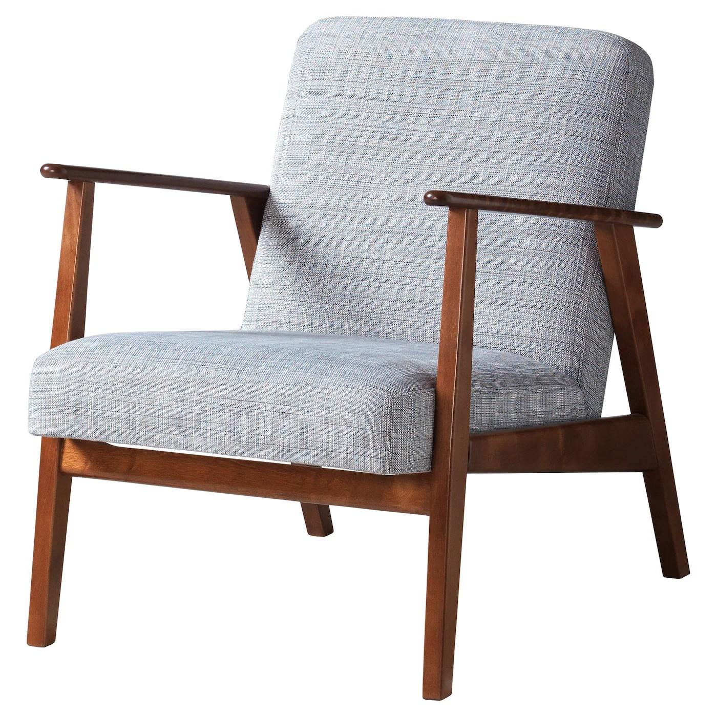 EKENSET Armchair Isunda Grey IKEA