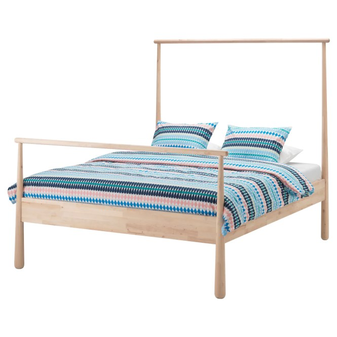 Ikea GjÖra Bed Frame Adjule Sides Allow You To Use Mattresses Of Diffe Thicknesses