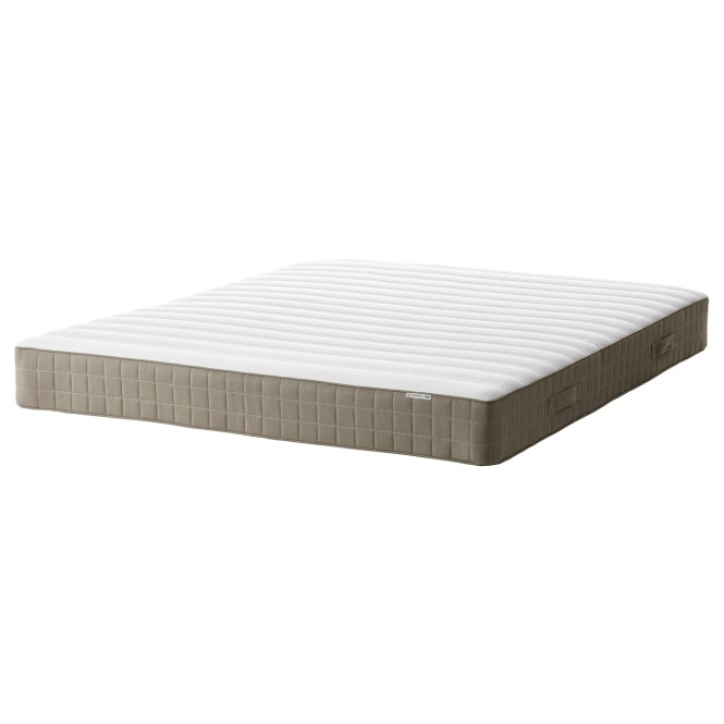 Ikea Hamarvik Sprung Mattress A Generous Layer Of Soft Fillings Adds Support And Comfort