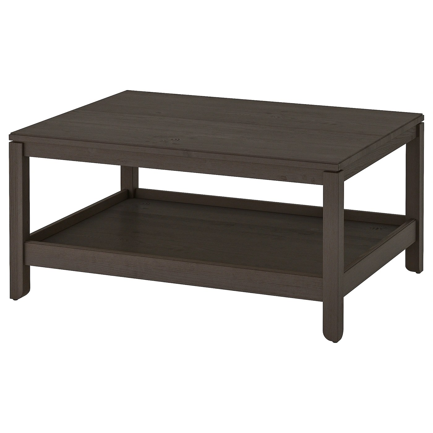 havsta coffee table dark brown 100x75 cm