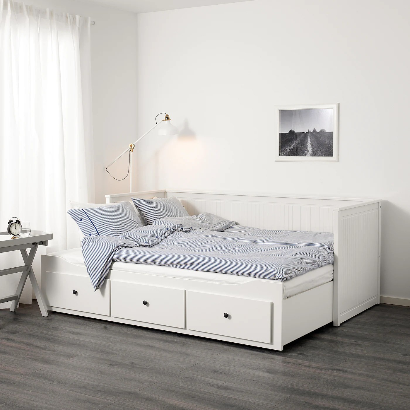 Hemnes White Day Bed With 3 Drawers 80x200 Cm Ikea