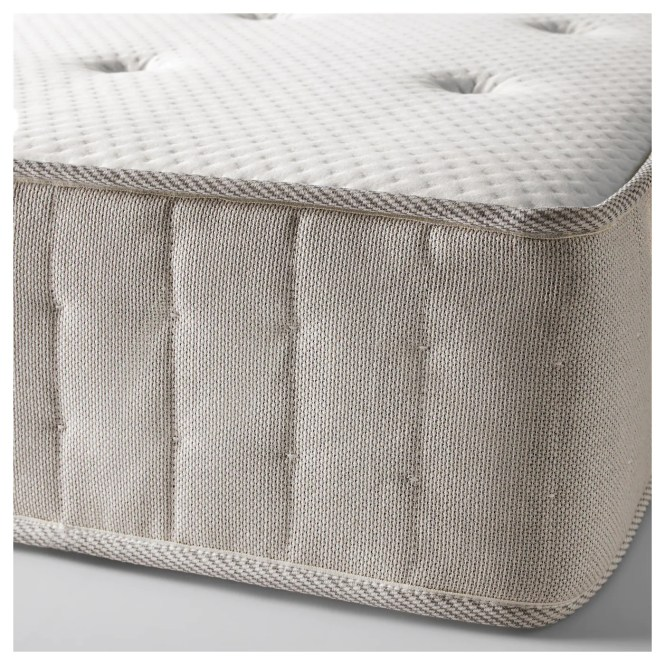 Ikea Hesseng Pocket Sprung Mattress Designed To Be Used On One Side Only No Need