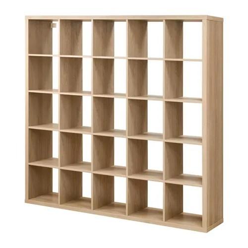 KALLAX Shelving Unit Oak Effect 182 X 182 Cm IKEA