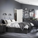 Malm Black Brown Bed Storage Box For High Bed Frame 200 Cm Ikea