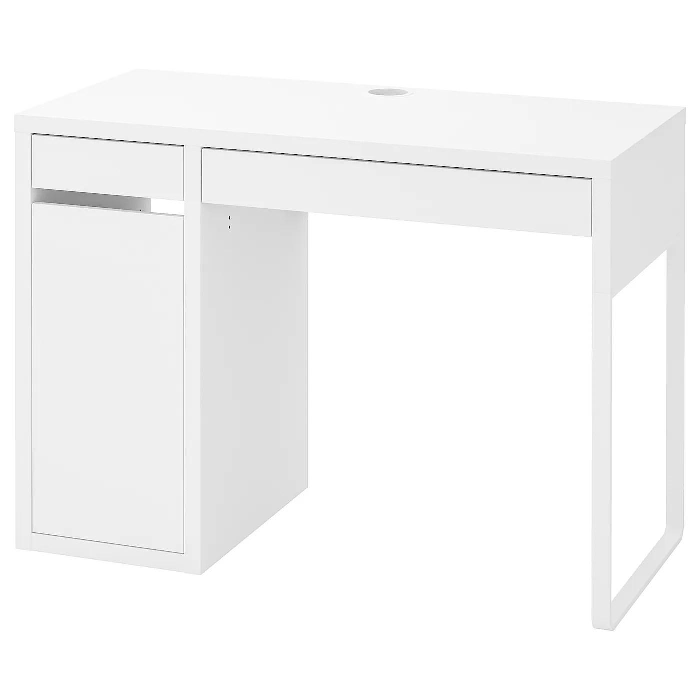 micke desk white 105x50 cm