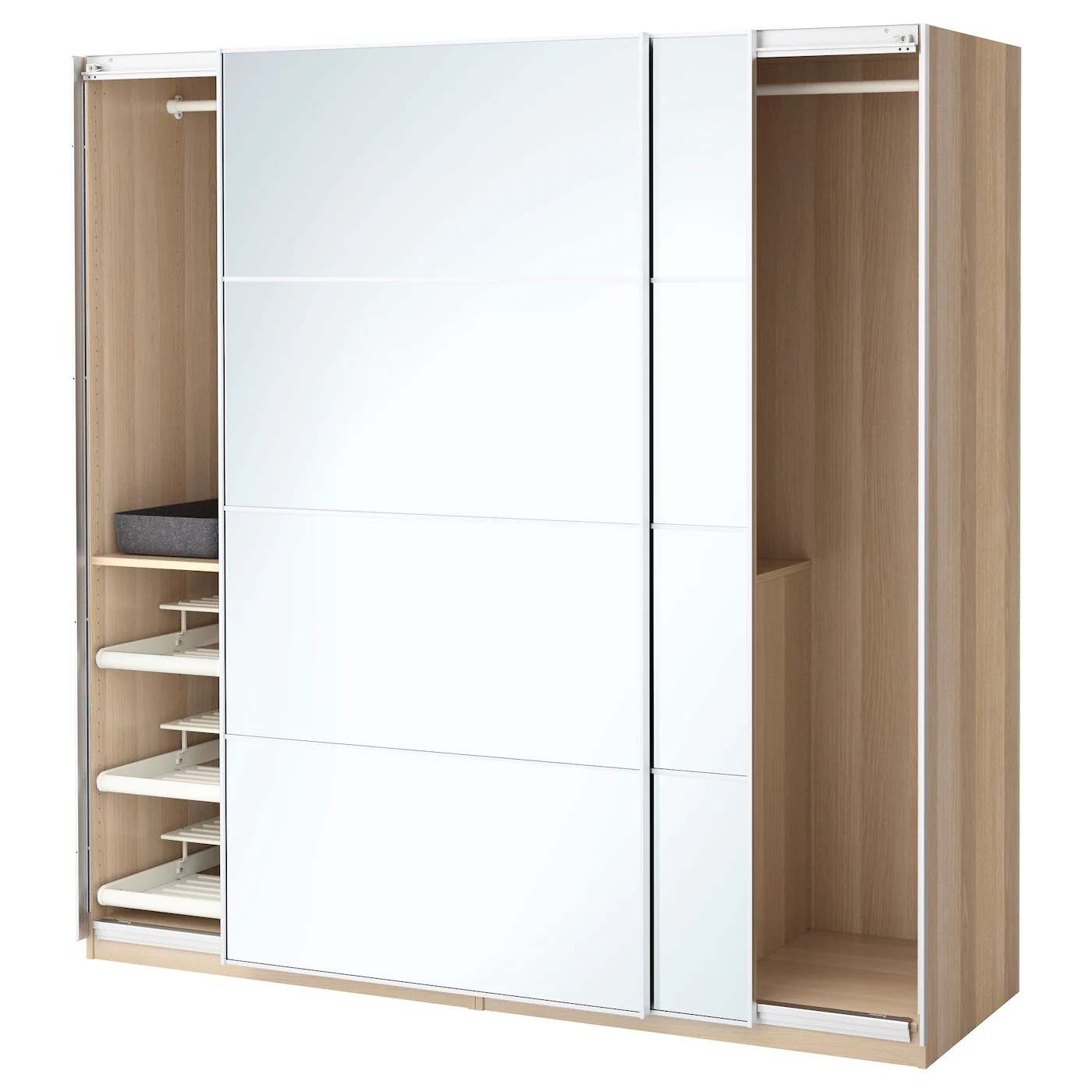 Wardrobe Combinations With Doors IKEA