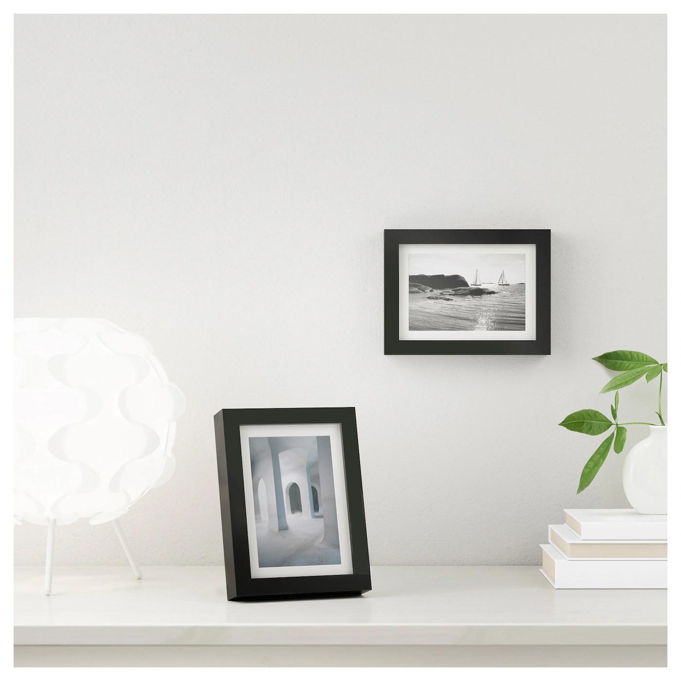 ribba frame black 21x30 cm