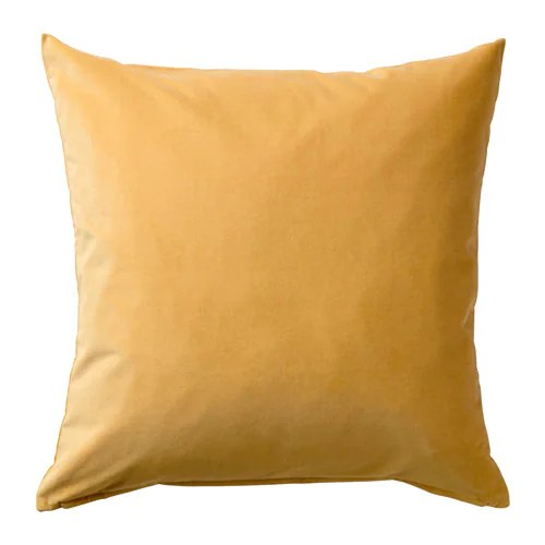 SANELA Cushion Cover Golden Brown 50x50 Cm IKEA