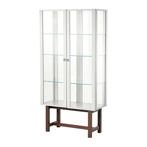 STOCKHOLM Glass-door cabinet IKEA