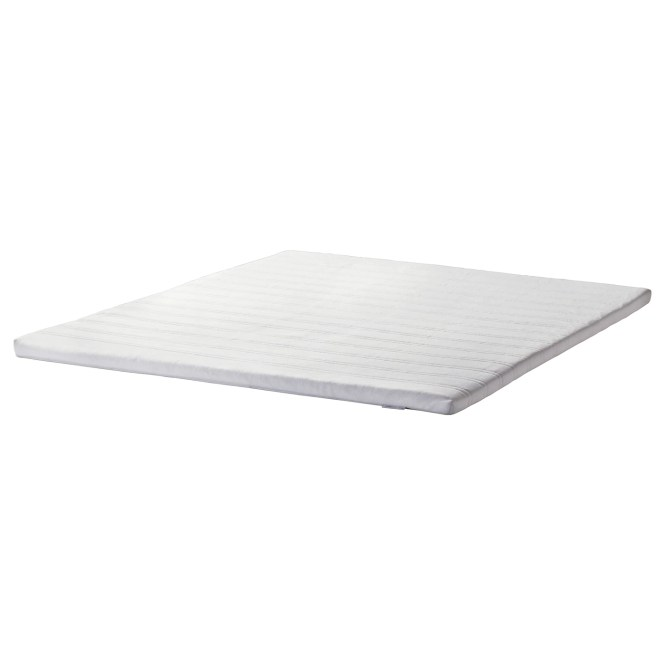 Ikea Tuddal Mattress Topper Easy To Bring Home Since It Is Roll Packed