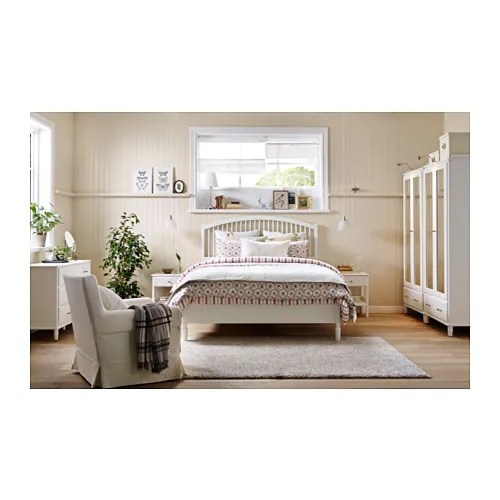 Ikea Tyssedal Bed Frame Adjule Sides Allow You To Use Mattresses Of Diffe Thicknesses