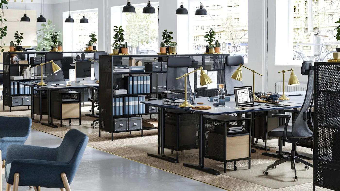 scrivania per computer siam, supporto pc, 100x52x. Desks Computer Desks Affordable Modern Ikea