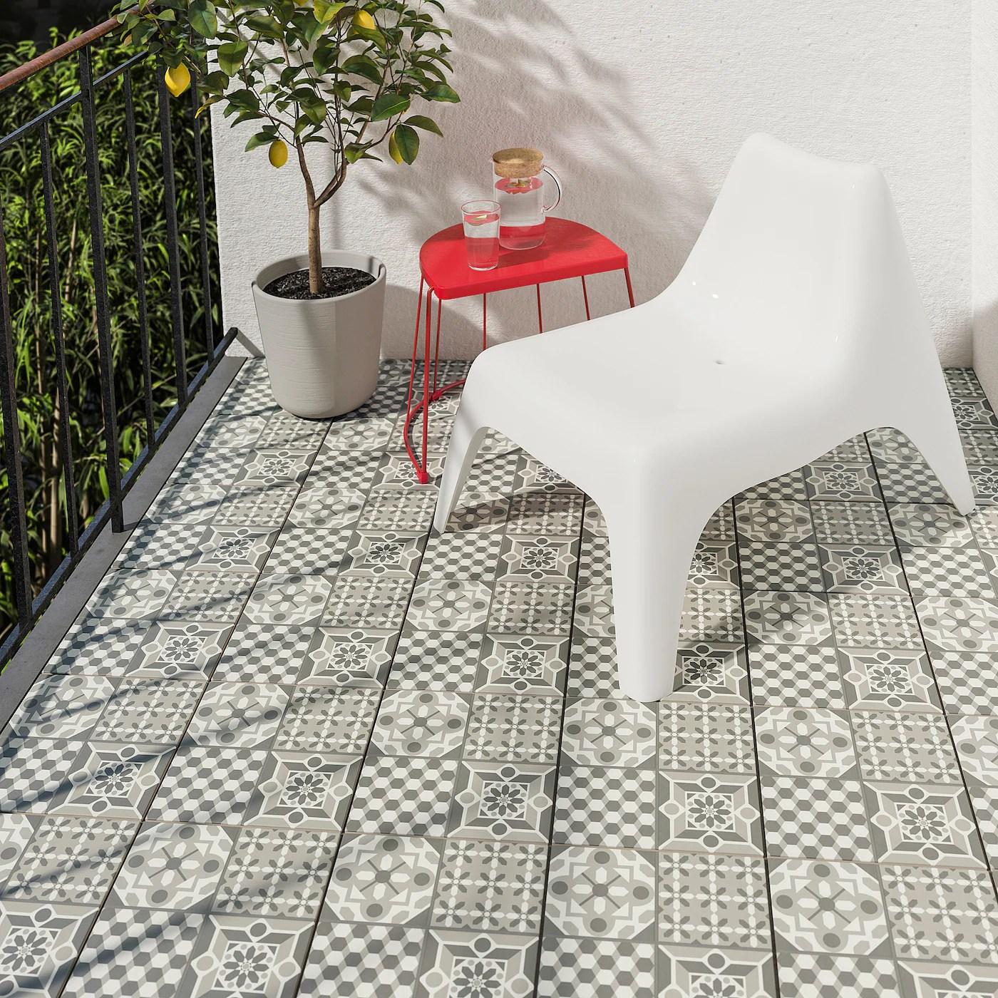 mallsten floor decking outdoor grey white 0 81 m