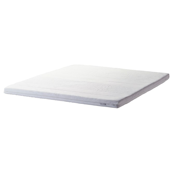 Ikea TussÖy Mattress Topper Easy To Bring Home Since It Is Roll Packed