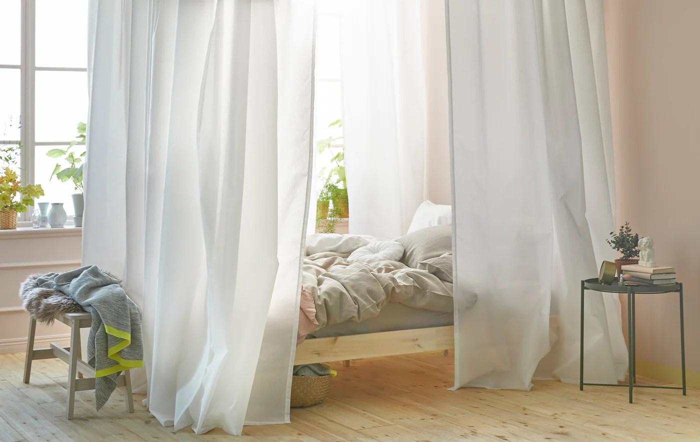 a diy canopy bed ikea