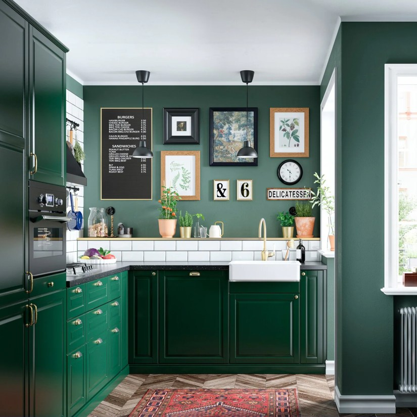 17. Dark green color must be perfect for a new refreshment