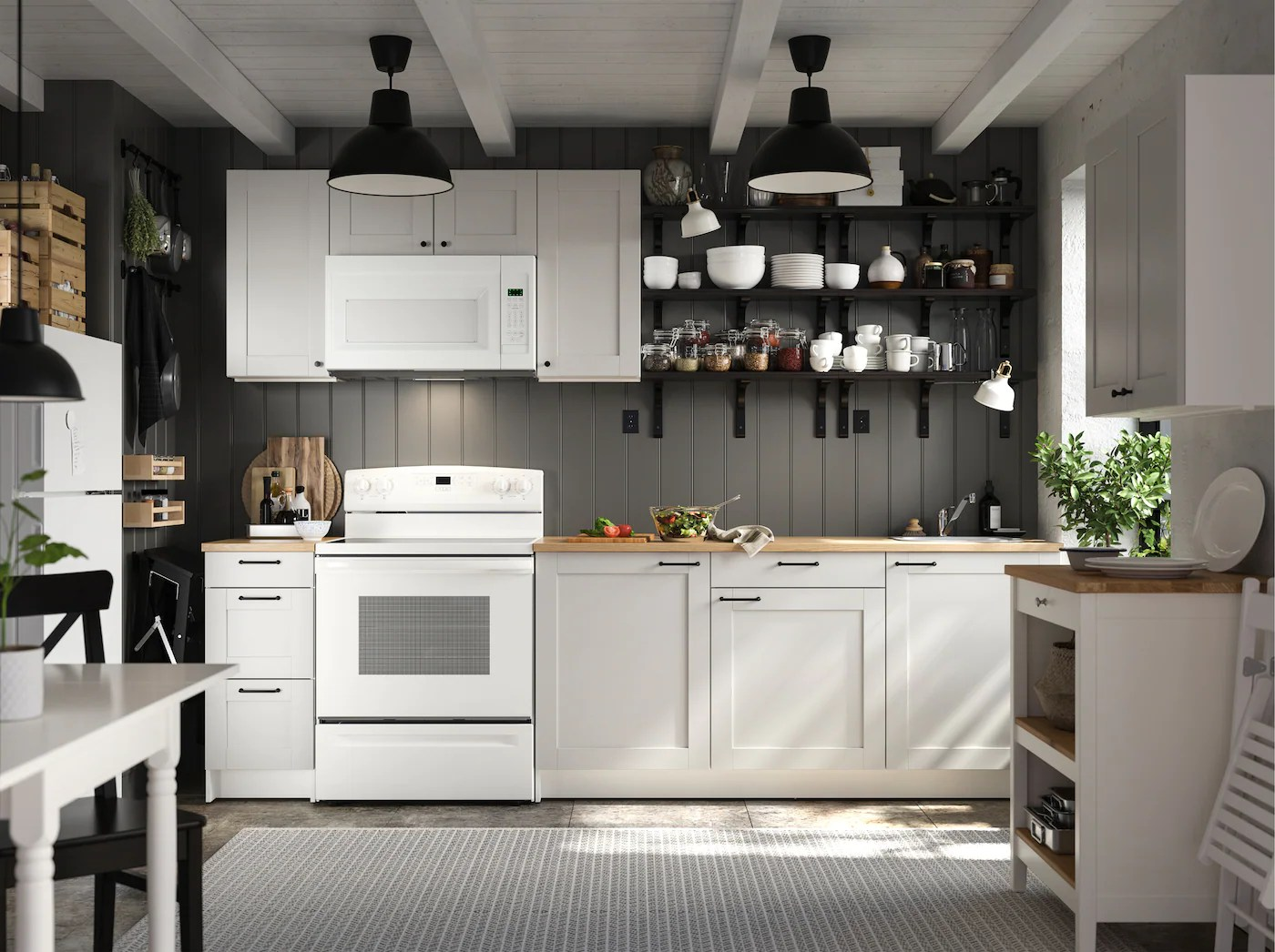 A personal and convenient KNOXHULT kitchen   IKEA